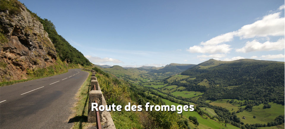 Route des fromages cantal